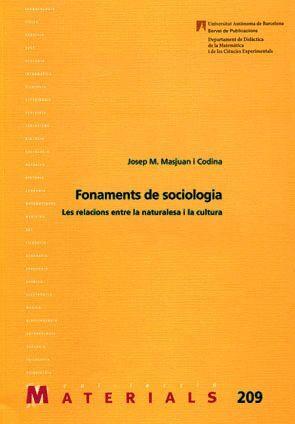 FONAMENTS DE SOCIOLOGIA