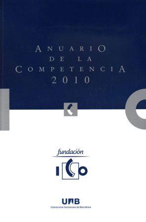ANUARIO DE LA COMPETENCIA 2010