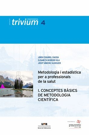 METODOLOGIA I ESTADÍSTICA PER A PROFESSIONALS DE LA SALUT (I)