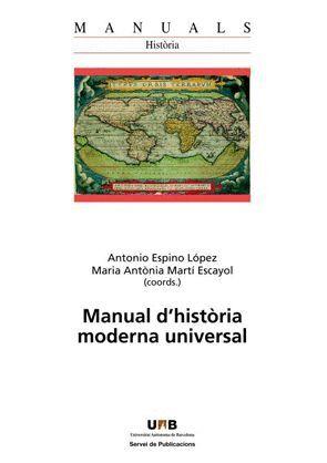 MANUAL D'HISTÒRIA MODERNA UNIVERSAL