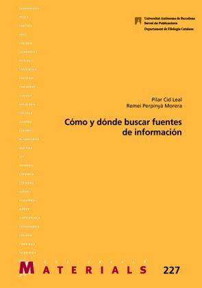 CÓMO Y DÓNDE BUSCAR FUENTES DE INFORMACIÓN
