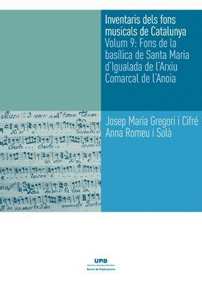 INVENTARIS DELS FONS MUSICALS DE CATALUNYA