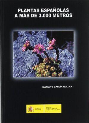 PLANTAS ESPAÑOLAS A MAS DE 3000 METROS