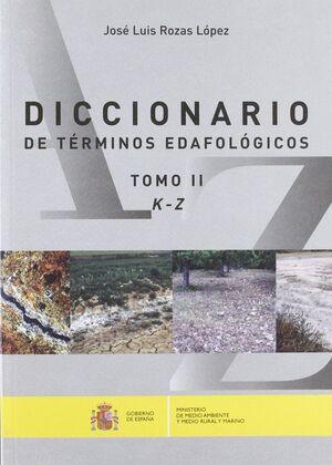 DICCIONARIO DE TERMINOS EDAFOLOGICOS 2 VOLS.