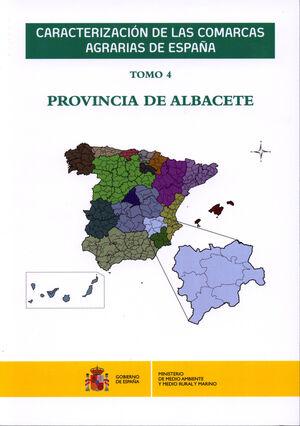 CARACTERIZACIÓN DE LAS COMARCAS AGRARIAS DE ESPAÑA. TOMO 4