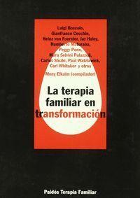 LA TERAPIA FAMILIAR EN TRANSFORMACIÓN