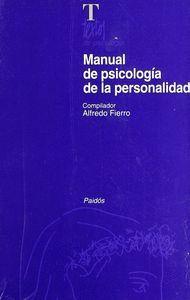 MANUAL DE PSICOLOGÍA DE LA PERSONALIDAD