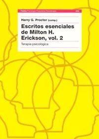 ESCRITOS ESENCIALES DE MILTON H. ERICKSON, VOL. 2