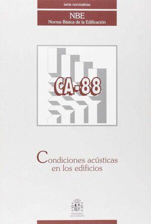 CONDICIONES ACUSTICAS EN LOS EDIFICIOS CA-88