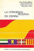 LA CONCIENCIA REGIONAL EN ESPAÑA