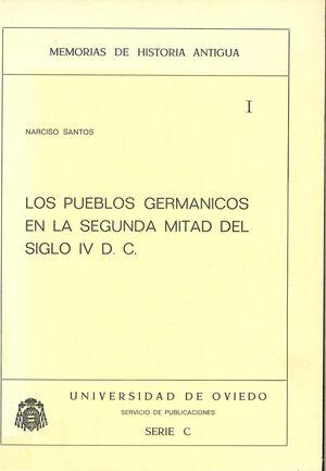 LOS PUEBLOS GERMÁNICOS EN LA 2ª MITAD DEL SIGLO IV D.C.