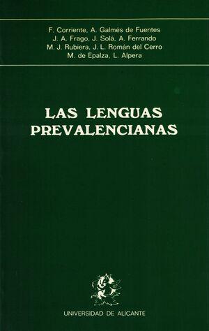 LAS LENGUAS PREVALENCIANAS