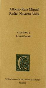 LAICISMO Y CONSTITUCIÓN