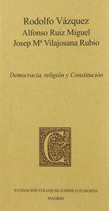 DEMOCRACIA, RELIGIÓN Y CONSTITUCIÓN