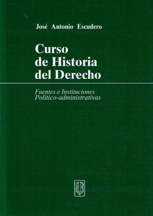 CURSO DE HISTORIA DEL DERECHO