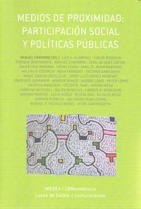 MEDIOS DE PROXIMIDAD PARTICIPACIÓN SOCIAL Y POLTICAS PÚBLICAS