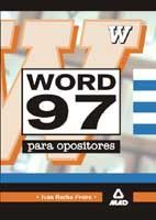 WORD 97 PARA OPOSITORES.