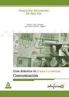 GUIA DIDACTICA LENGUA Y LITERATURA. COMUNICACION