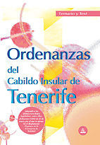 ORDENANZAS DEL CABILDO INSULAR DE TENERIFE. TEMARIO
