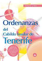 ORDENANZAS DEL CABILDO INSULAR DE TENERIFE. TEMARIO