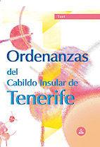 ORDENANZAS DEL CABILDO INSULAR DE TENERIFE. TEST