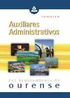 AUXILIARES ADMINISTRATIVOS DEL AYUNTAMIENTO DE OURENSE. TEMARIO