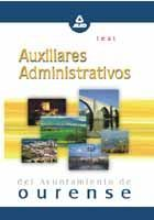 AUXILIARES ADMINISTRATIVOS DEL AYUNTAMIENTO DE OURENSE. TEST