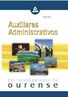 AUXILIARES ADMINISTRATIVOS DEL AYUNTAMIENTO DE OURENSE. TEST