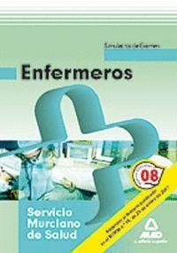 ENFERMEROS, SERVICIO MURCIANO DE SALUD. TEMARIO ESPECFICO Y SIMULACROS DE EXAMEN