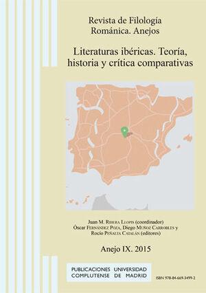 LITERATURAS IBÉRICAS. TEORÍA, HISTORIA Y CRÍTICA COMPARATIVAS