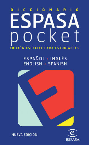DICCIONARIO POCKET INGLÉS- ESPAÑOL / ESPAÑOL - INGLÉS