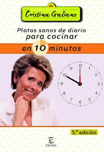 PLATOS SANOS DE DIARIO PARA COCINAR EN 10 MINUTOS