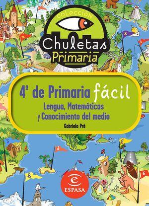 CHULETAS PARA 4º DE PRIMARIA