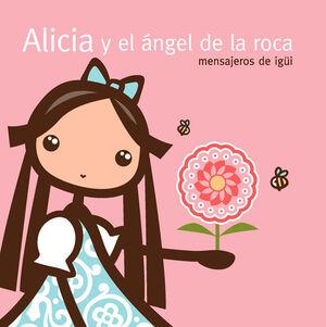 ALICIA Y EL ÁNGEL DE LA ROCA