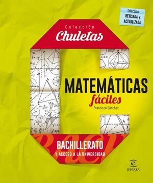 MATEMÁTICAS FÁCILES PARA BACHILLERATO