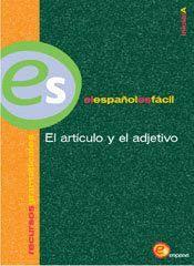 ELE, EL ARTICULO Y EL ADJETIVO