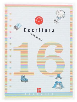CUADERNO 16 DE ESCRITURA. 6 PRIMARIA