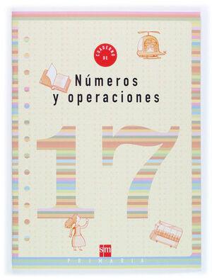 CUADERNO 17 DE NÚMEROS Y OPERACIONES. 6 PRIMARIA