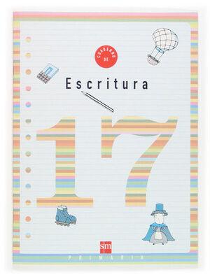 CUADERNO 17 DE ESCRITURA. 6 PRIMARIA