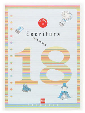 CUADERNO 18 DE ESCRITURA. 6 PRIMARIA