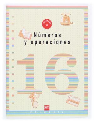 CUADERNO 16 DE NÚMEROS Y OPERACIONES. 6 PRIMARIA