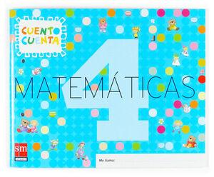 MATEMÁTICAS, CUENTO CUENTA 4. EDUCACIÓN INFANTIL