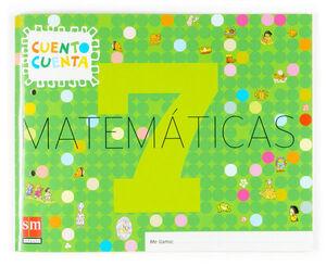 MATEMÁTICAS, CUENTO CUENTA 7. EDUCACIÓN INFANTIL