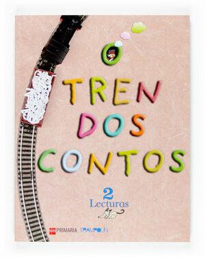 LECTURAS: O TREN DOS CONTOS. 2 PRIMARIA. PROXECTO TRAMPOLÍN