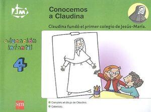 4 AÑOS JM.CONOCEMOS A CLAUDINA 07