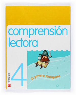 COMPRENSIÓN LECTORA: EL PIRATA MALAPATA. 4 PRIMARIA