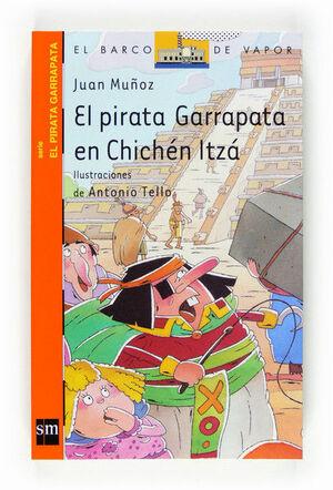 EL PIRATA GARRAPATA EN CHICHÉN ITZÁ