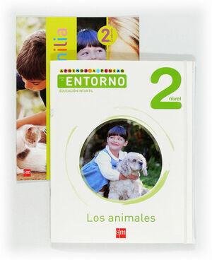 APRENDO A PENSAR CON EL ENTORNO: LOS ANIMALES. NIVEL 2. EDUCACIÓN INFANTIL