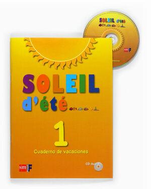 SOLEIL D'ÉTÉ. 1 ESO. CUADERNO DE VACACIONES