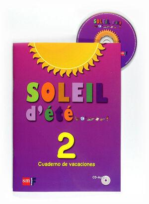 SOLEIL D'ÉTÉ. 2 ESO. CUADERNO DE VACACIONES